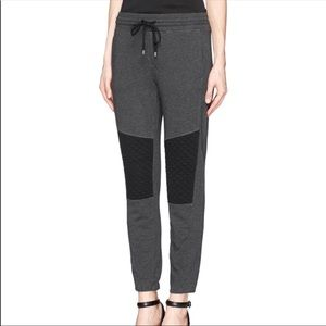 Vince Quilted knee terry French Sweatpants